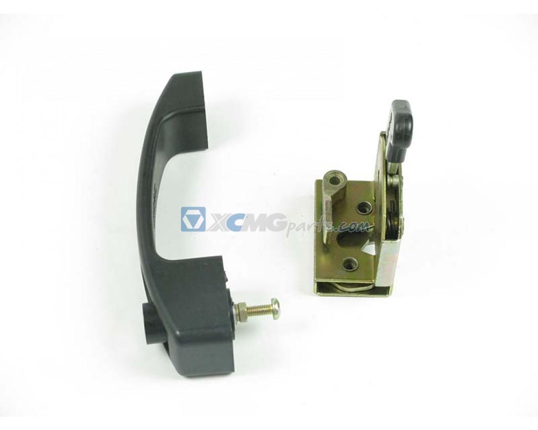 Door Handle With Lock Upper Cabin Qy70k Xcmg Parts